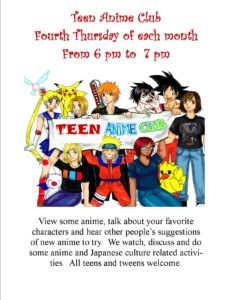 Teen Anime Club