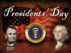 Library Closed for President's Day