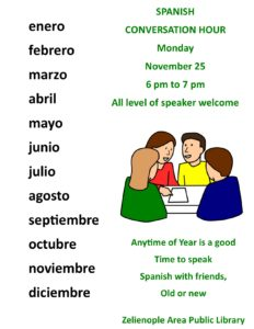 SPANISH Conversation Hour