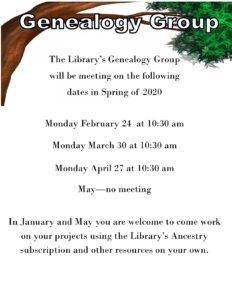 Genealogy!!