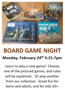 Board Game Night @ Teen Room