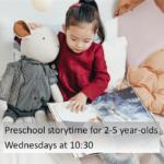 Link to preschool storytime videos