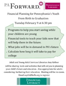 Financial Planning for PA Youth
