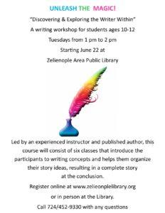 Unleash the Magic Writing Workshop