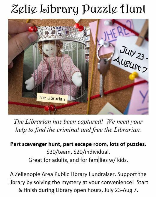 Zelie Library Puzzle Hunt