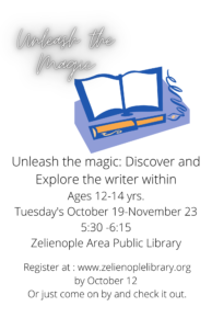 Unleash the Magic Young Writer's Workshop