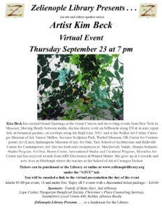 Artist Kim Beck in Virtual Event!